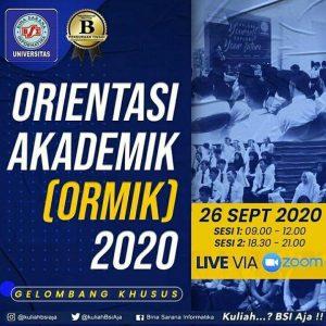 UBSI Akan Gelar  Ormik Online Untuk Mahasiswa Gelombang Khusus
