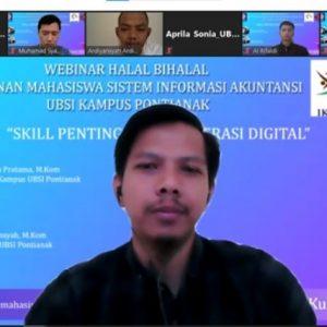 """Halal Bi Halal UBSI Kampus Pontianak 2021 dengan Tema """"Skill Penting di Era Literasi Digital"""""""