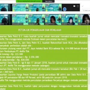 Tes Kemampuan Mahasiswa/i dengan Uji  Kompetensi  Akuntansi Keuangan Menengah