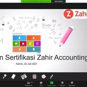 Universitas BSI  Bekali Mahasiswa Dengan Sertifikasi Zahir Accounting